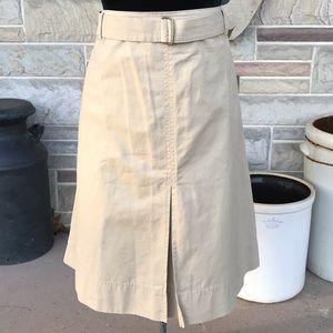 Liz Claiborne Cotton A-line Skirt
